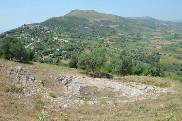 The Greek Theatre of Nikaia built in the 3rd century BC, it had a capacity of approximately 900 spectators, Illyria