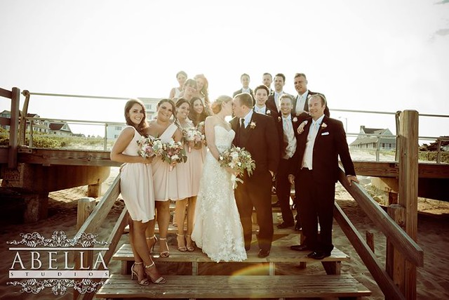 NJ Wedding for Leah & Matthew, whose Wedding was held at The Breakers on the Ocean, Spring Lake, NJ. These images were captured by New Jersey's leading Wedding Photography & Videography Studio - Abella Studios - http://ift.tt/1rfQi7c Additional images can