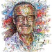 Stan Lee by his superheroes (for The Hollywood Reporter) by tsevis