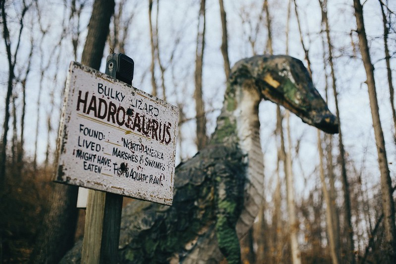 Prehistoric Forest: Hadrosaurus