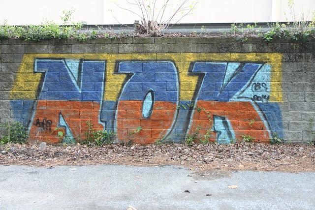 Dunwoody Grafitti