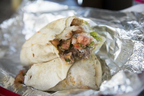 Beef Burrito, La Taqueria, San Francisco
