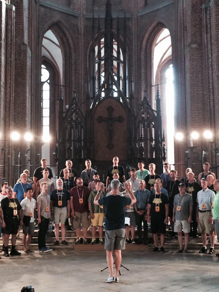 Golden Gate Men's Chorus 2014 Tour of Latvia and Lithuania