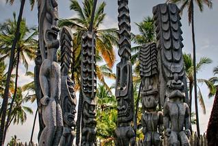 Pu'uhonua O Honaunau - Hawai'i