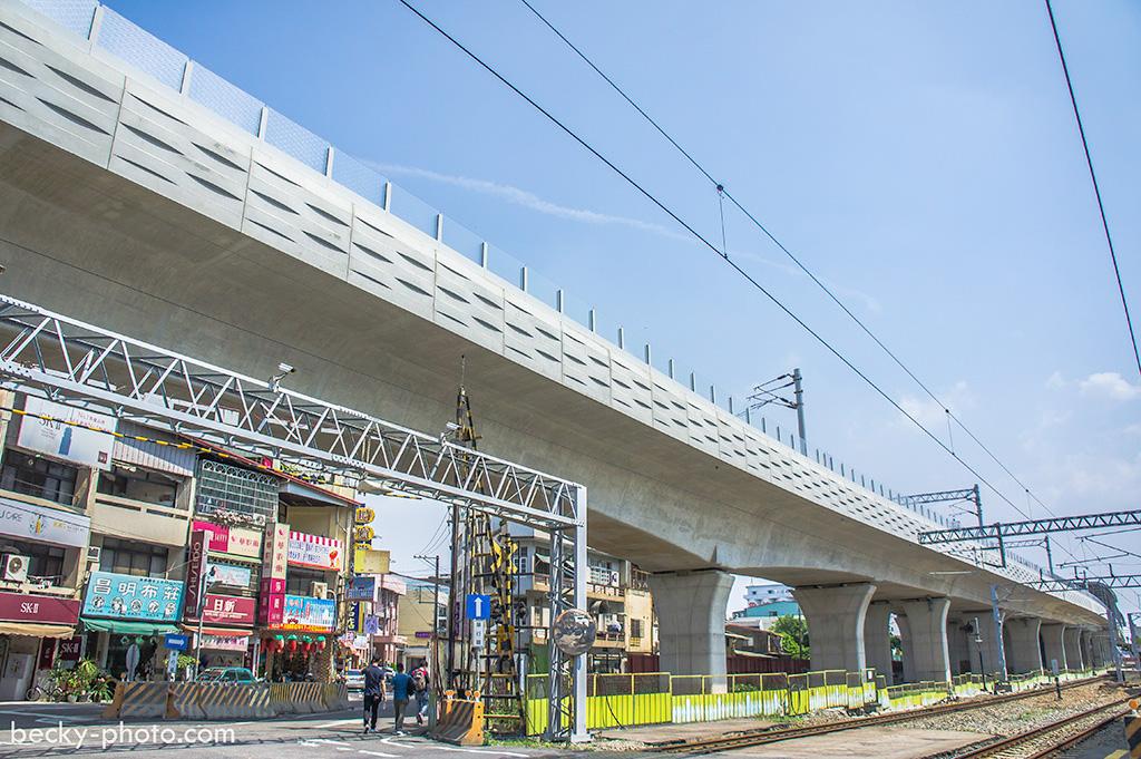 2015.Apr 潭子鐵路高架化 @Taichung
