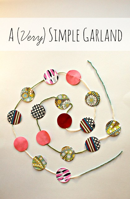 A (Very) Simple Garland