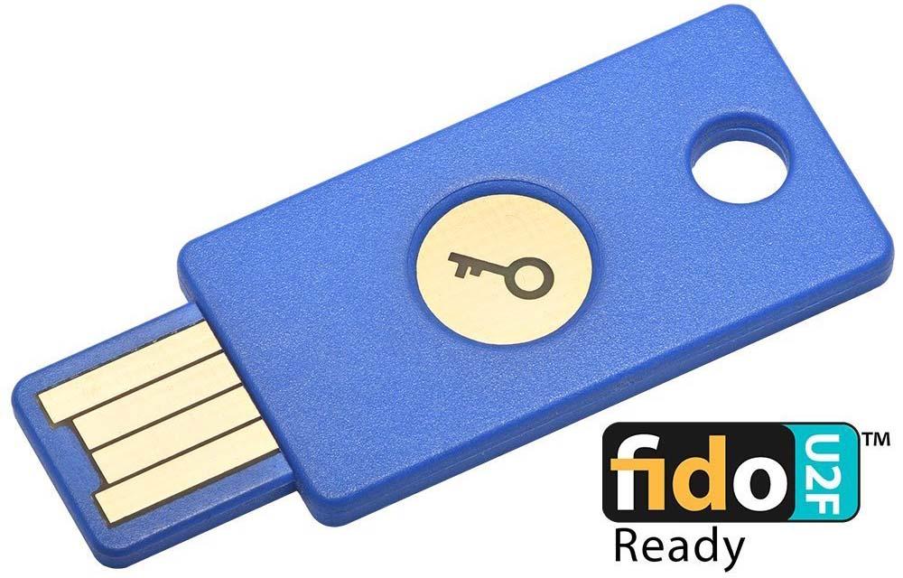 FIDO U2F 安全金鑰