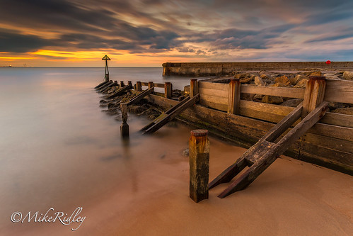 longexposure sunset sunlight seascape landscape blyth seatonsluice mikeridley