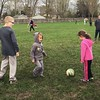 First day of the soccer season