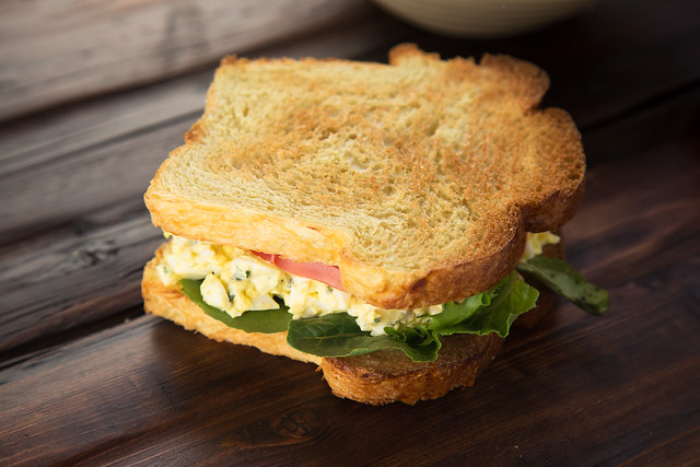 Basil Egg Salad Sandwich