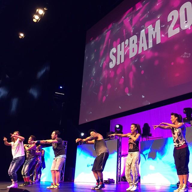 Dance dance dance! #Sh'Bam #OneLive #LesMills #Reebok