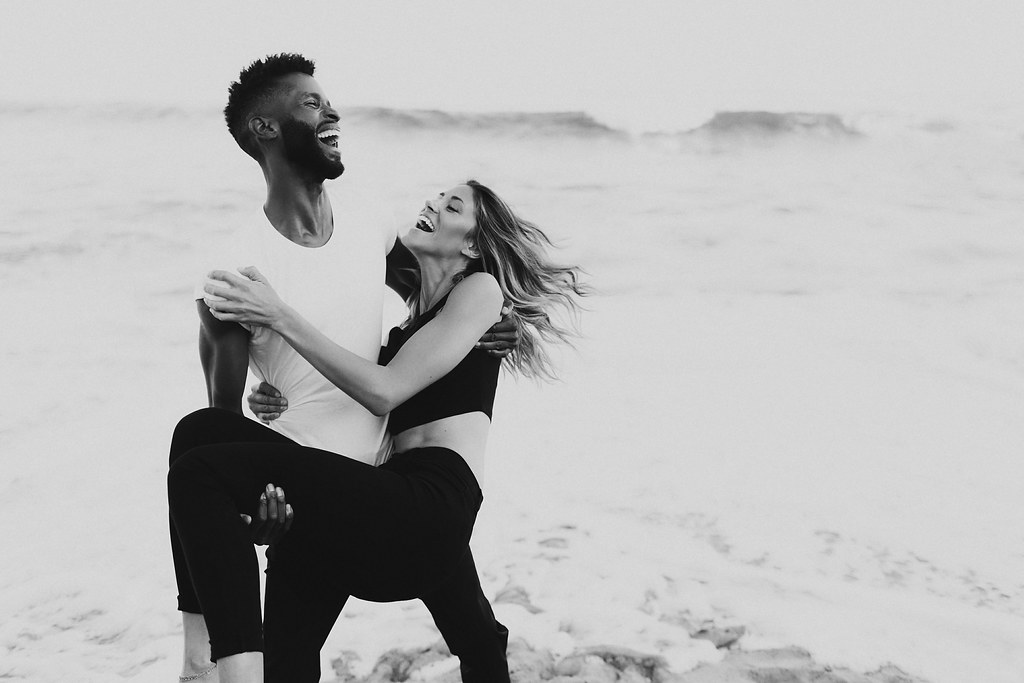 California Beach Engagement Session