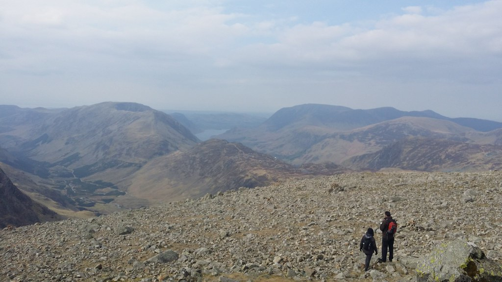 On Great Gable #sh