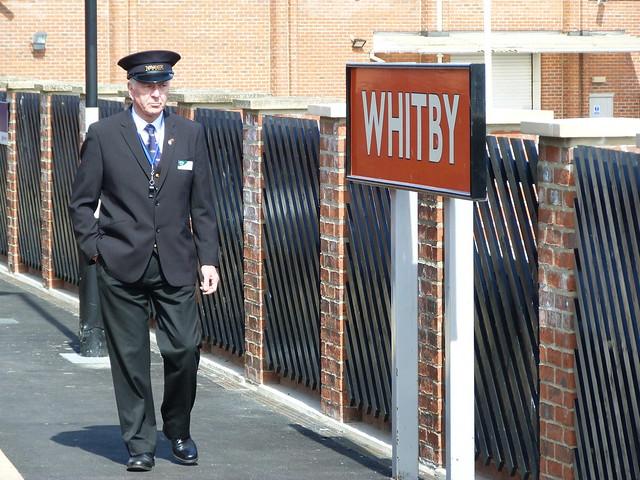 Jefe de estación en Whitby (Yorkshire)