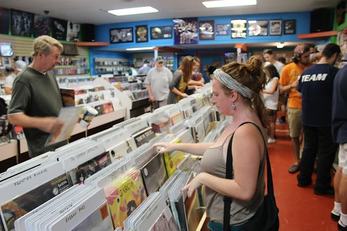 Record Store Day by Kat Grimmett