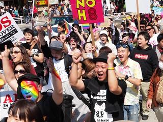 2015.4.26|渋谷|東京レインボープライドパレード2015|Tokyo Rainbow Pride Parade 2015, Shibuya, Tokyo, 2015/4/26.