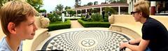 The circular bench