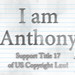 I AM Anthony by Anthony Mazur