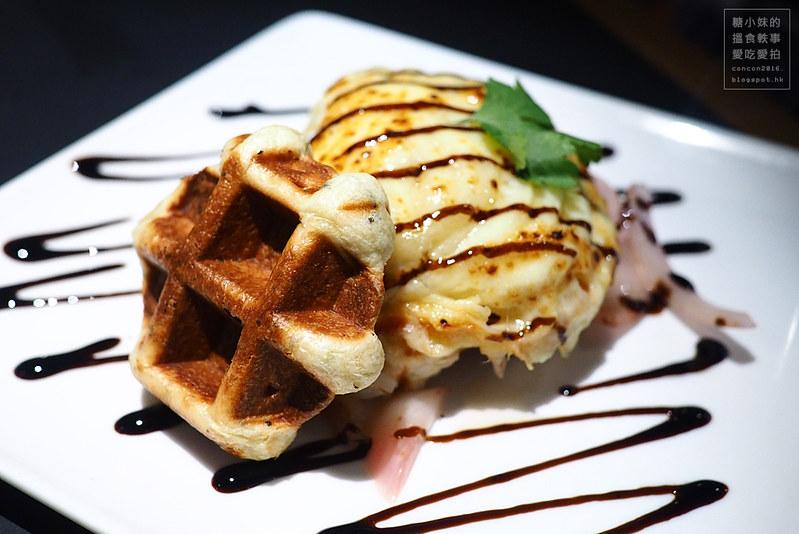 [西環] Waffling Beans ‧ 搵食到堅尼地城: 來這裡嘆杯咖啡,品嚐美味的特式美食