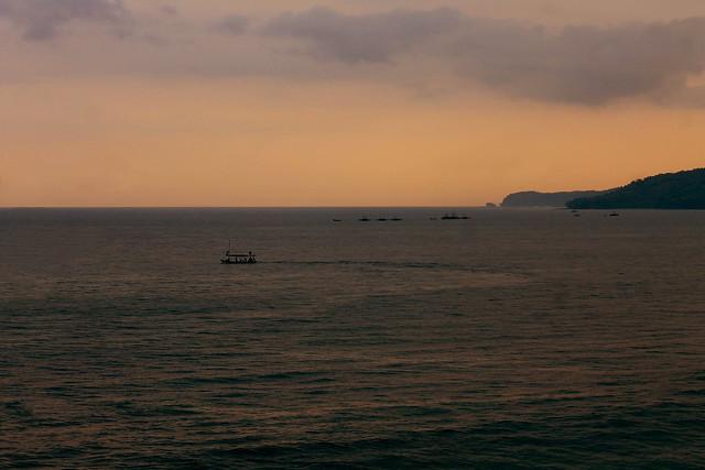 The Boats in Karang Hawu Beach
