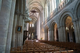 Bayeux Cathedral interior