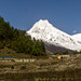 Manaslu from Lho