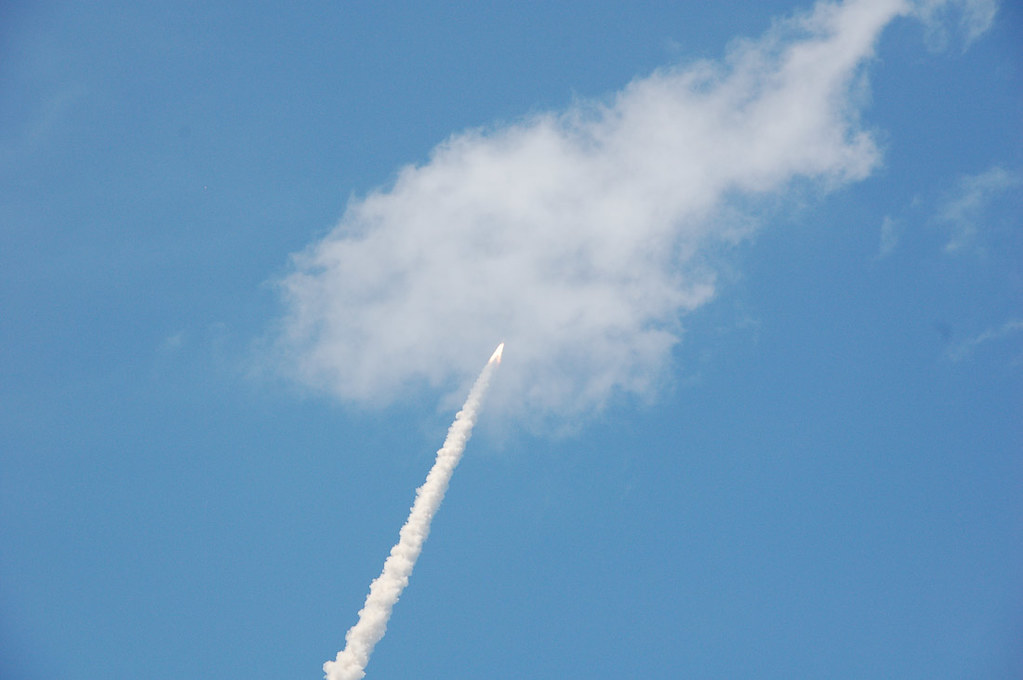 Space Shuttle Liftoff from Kennedy Space Center