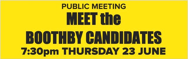 Meet the Boothby Candidates