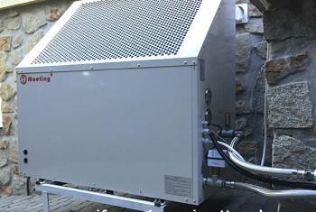 Energiatakérkosan fűthet és hűthet egy hőszivattyú segítségével.