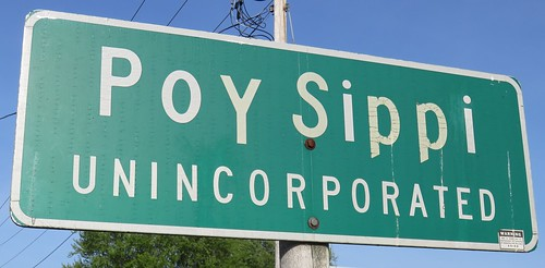 Poy Sippi Sign (Poy Sippi, Wisconsin)