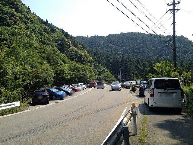竜ヶ岳 宇賀渓キャンプ場 無料駐車場
