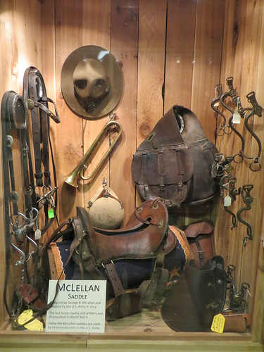 McClellan saddle and tack