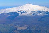 Volcano Etna Sicilia Italia Skitour. Foto: Günther Härter.