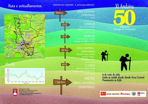 Andaina 50 Santiago de Compostela