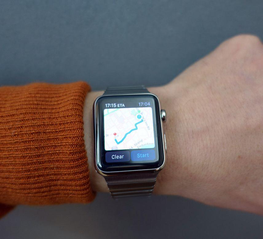 Bảng đồ trên đồng hồ apple
