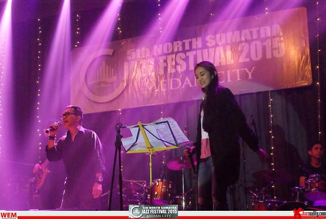 North Sumatra Jazz Festival 2015 - Keenan Nasution and Vickay (1)