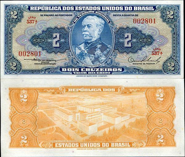 2 Cruzeiros Brazília 1954-58