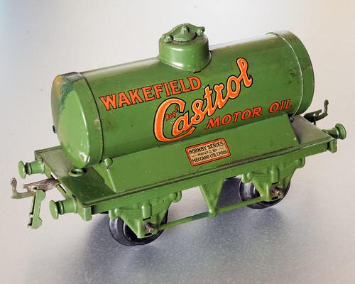 Pre-war Hornby Castrol Tank Wagon
