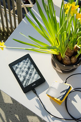 Solar powered Kindle Paperwhite