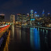 Philly Skyline at Night by kjarrett