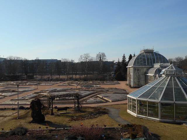 Helsingin Kaisaniemen kasvitieteellisen puutarhan remontti - Tilannetta 19.3.2015 B
