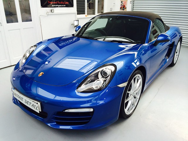 Porsche Boxster Enhancement Detail