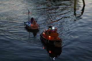 Tug Boat and Barbie