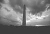 Washington Monument (storms coming)