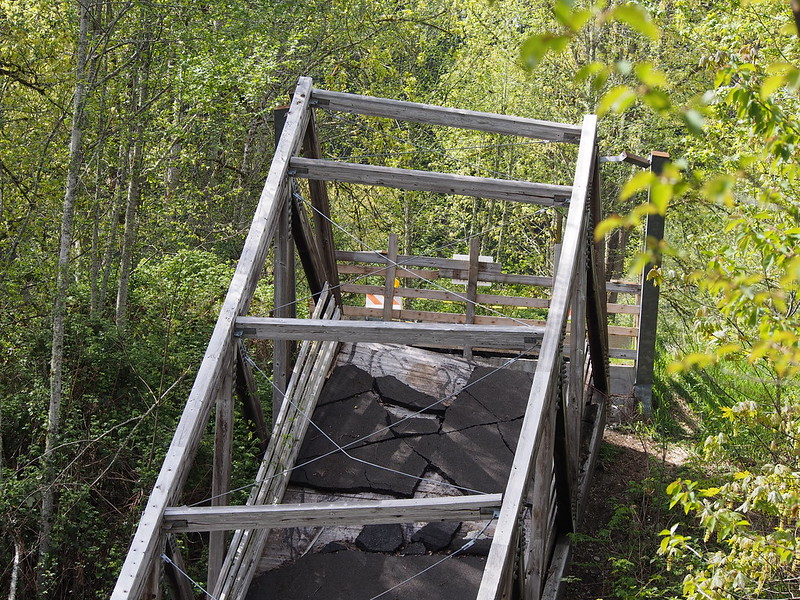 Foothills Trail Bridge Outage