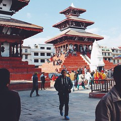 #Basantapur #Durbar Square, a #World #Heritage site in #Kathmandu, #Nepal is now damaged due to the recent #earthquake. Worst part is that the locals occupies these old places resulting to injuries and lost of #life. You can #donate to the American #RedCr