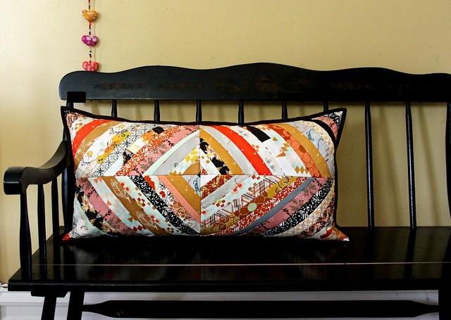 Herringbone QAYG Pillow