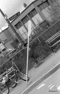 Pole is straight