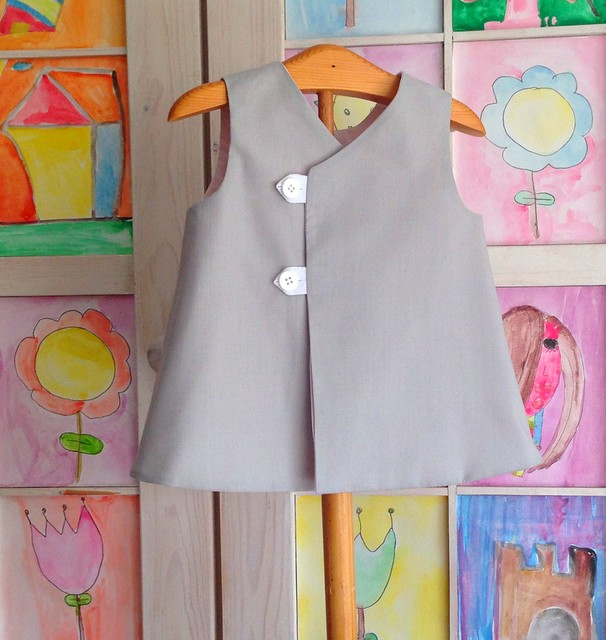 totoro dress back