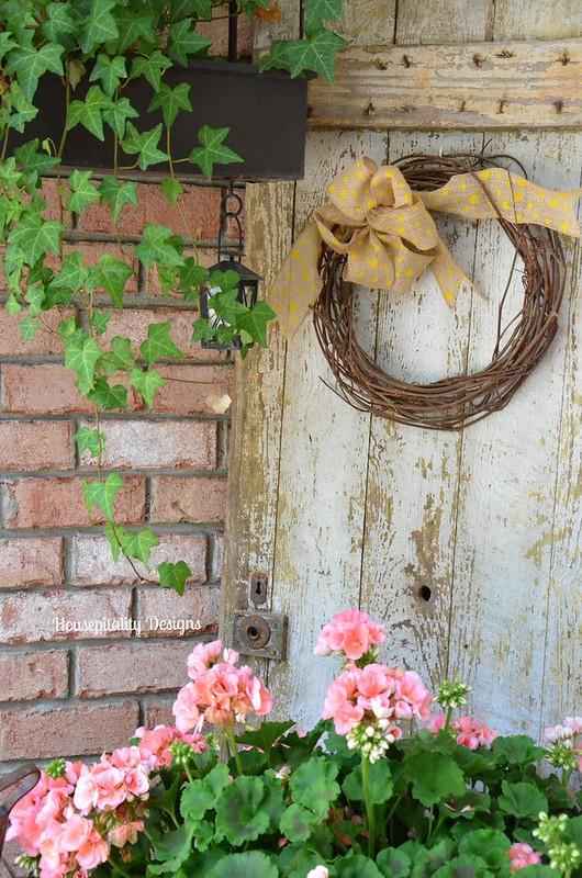 Spring Front Porch 2015-Housepitality Designs